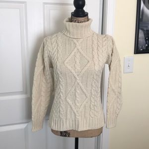 Medium Cable Knit Sweater